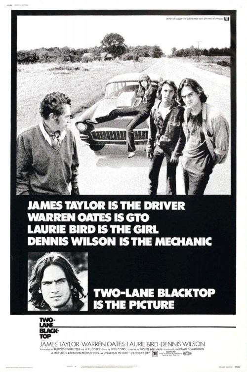 two lane-blacktop-poster