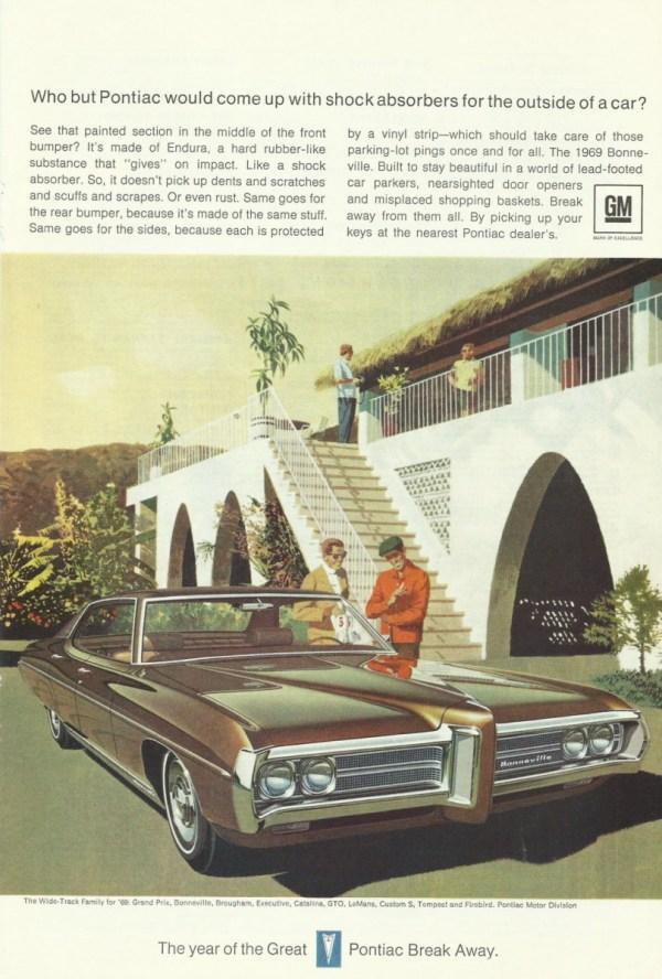 vintage 69 pontiac ad