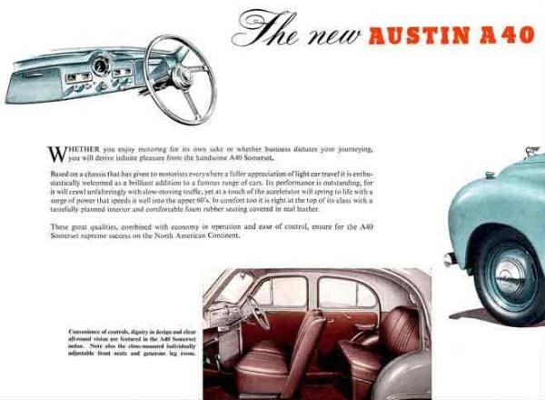 1952 Austin A40 Somerset 1 ad