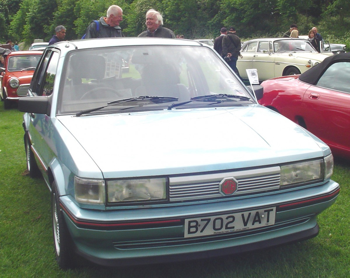 Carshow Classic 1984 Mg Maestro 1600 When Being Better Than Vw Jetta Front Bumper Diagram Moreover On 84 Rabbit End Before Is Not Good Enough