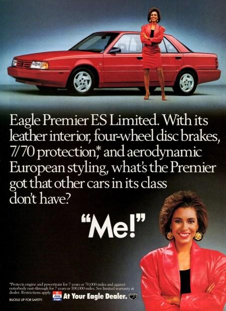 1990 Eagle Premier ad
