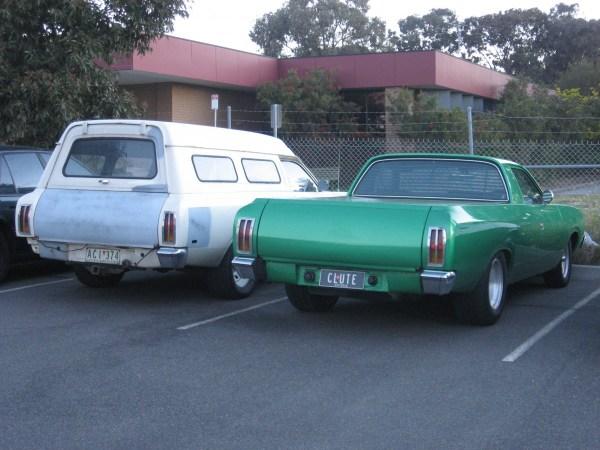 Chrysler CL Valiant panelvan and ute
