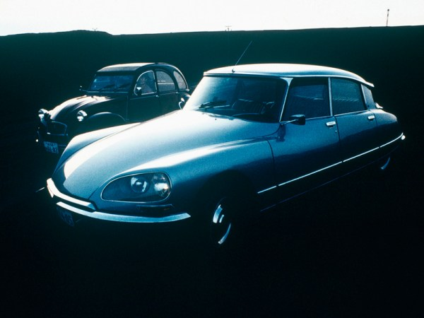 Citroen DS and 2CV