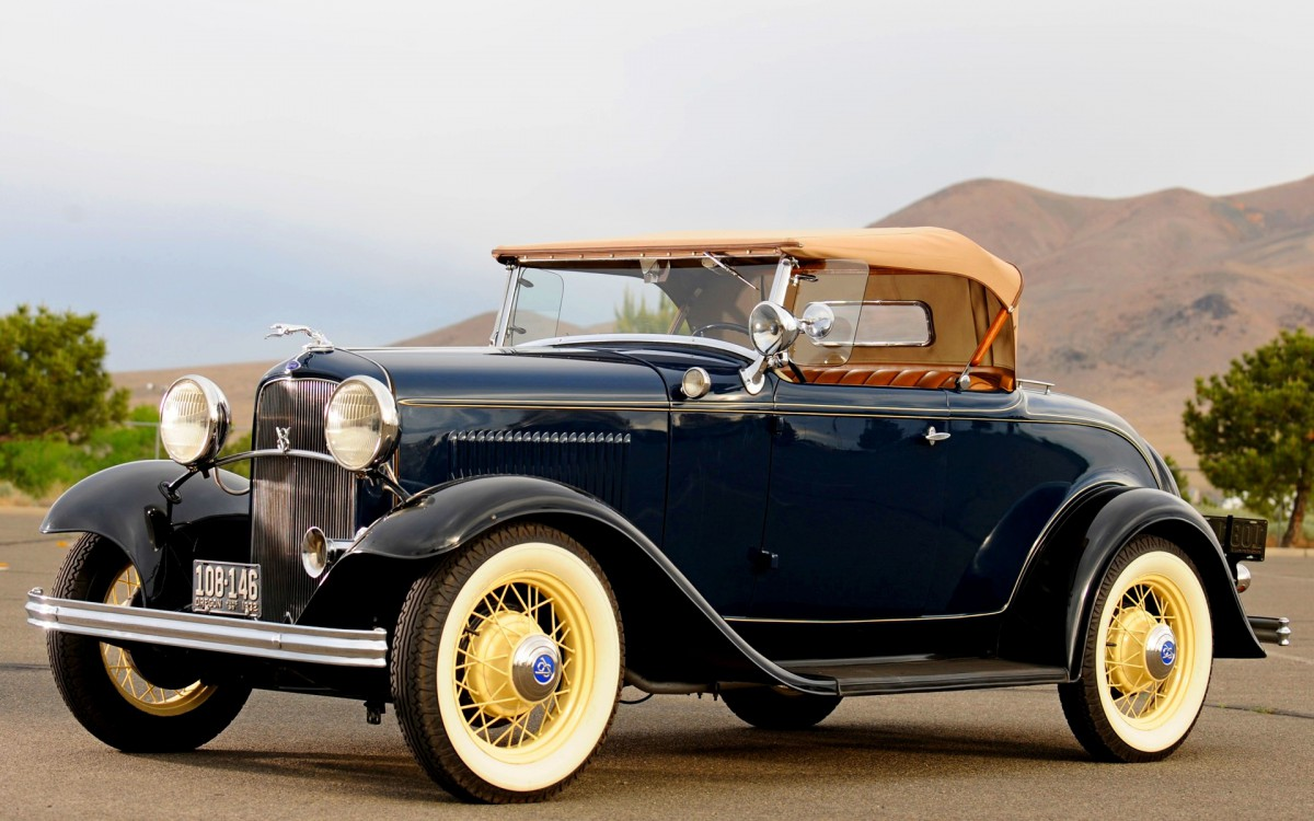 Curbside Classic: 1932 Ford V8 – America\'s V8 Love Affair Starts Here