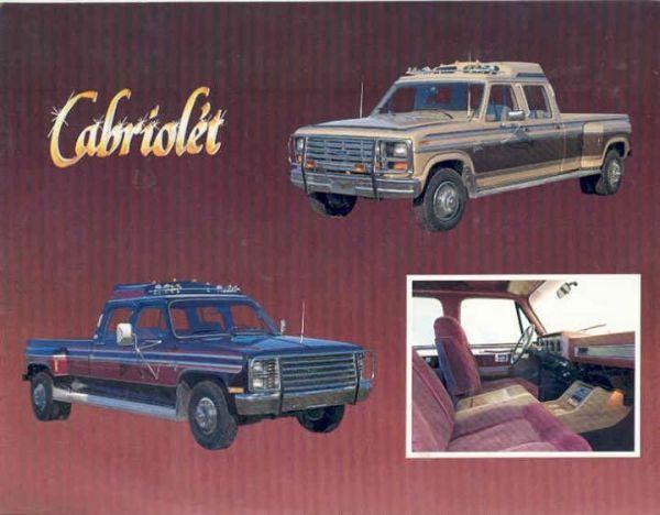 cabriolet pickups
