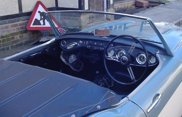 1960 autin Healey 8