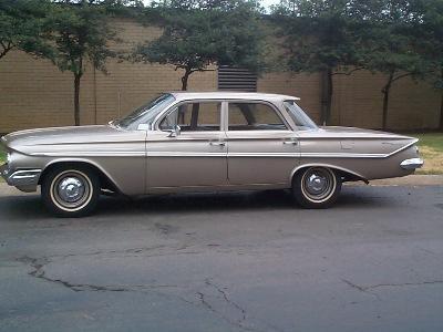 Chevrolet 1961 bel air sedan 4 door & Curbside Classic: 1961 Chevrolet Bel Air Sport Sedan u2013 The Last Bel ...