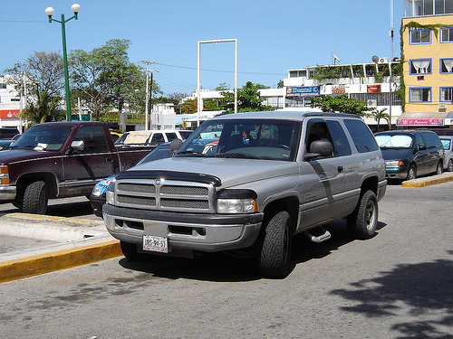 Dodge Ramcharger mex
