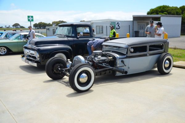 Kustom Nationals hot rod