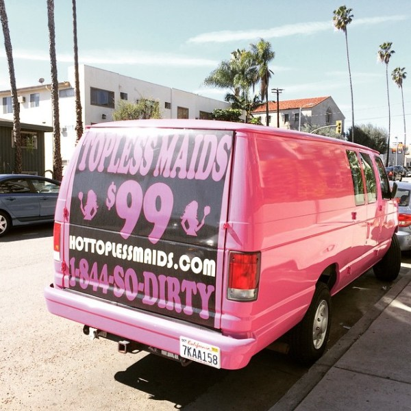 los angeles van