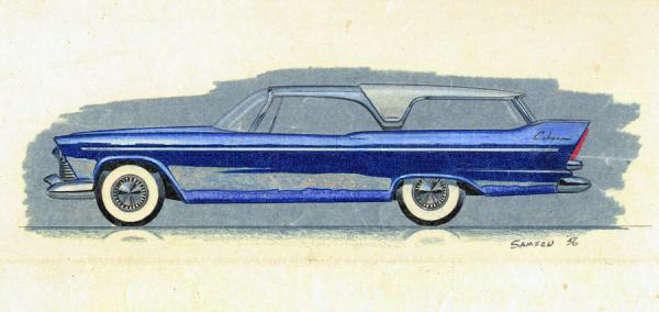 1957-plymouth-cabana-station-wagon-styling-design-concept-sketch-john-samsen