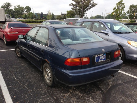 1992-95 Honda Civic h