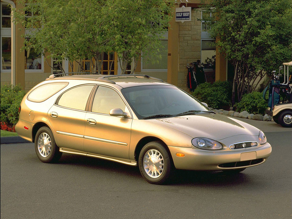 curbside classic 1996 99 ford taurus wagon making over. Black Bedroom Furniture Sets. Home Design Ideas
