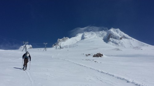 Up Palmer Snowfield