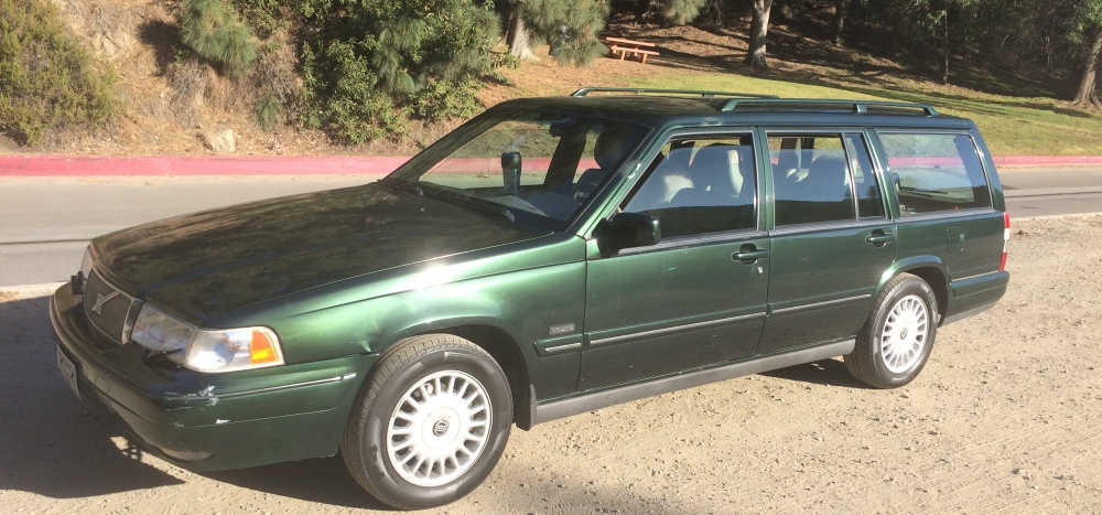 my cc and first wagon so far 1995 volvo 960. Black Bedroom Furniture Sets. Home Design Ideas