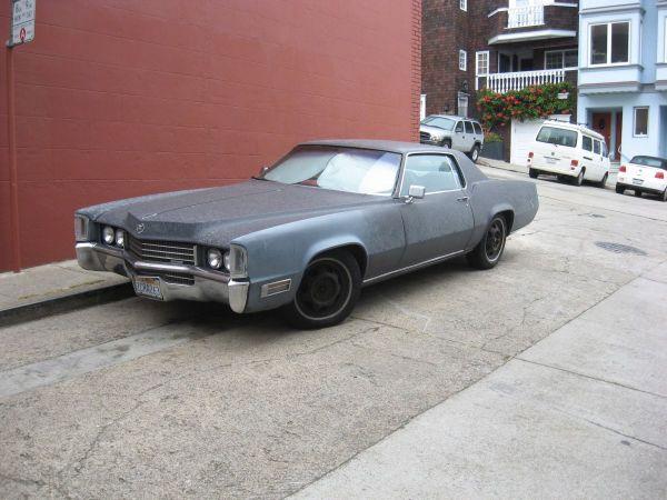 Cadillac Eldorado front