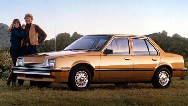 Chevrolet Cavalier 1982 +CX5160-SV-0004