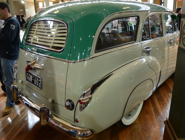 FJ Holden wagon rear