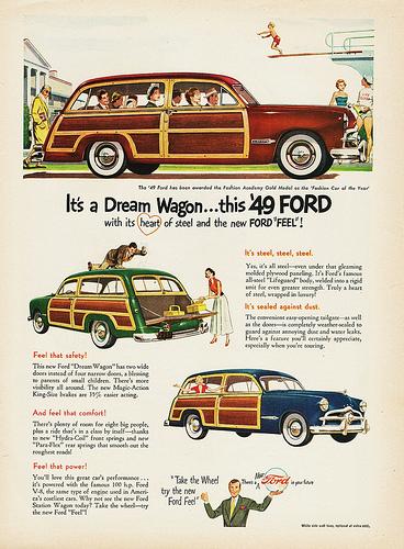 Ford 49 wagon ad
