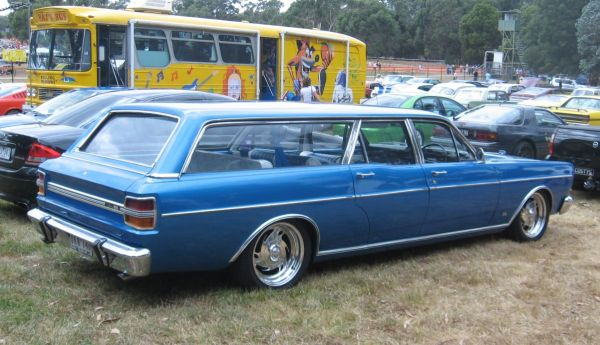 Ford Falcon stretch wagon