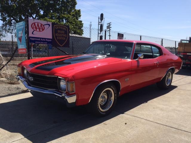 Curbside Classic 1972 Chevelle Malibu Ss 454 Big Block Cherry Bomb