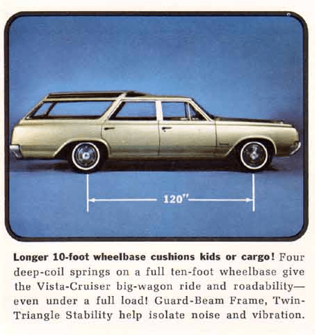 Olds Vista wagon 64