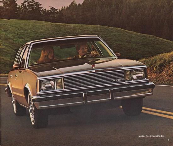 004 Malibu Brochure 1981
