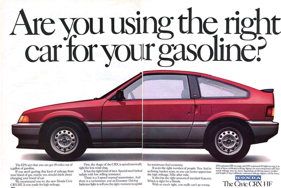 Curbside Classic: 1990 Honda CRX HF – I Was Green When Green Wasn\'t Cool