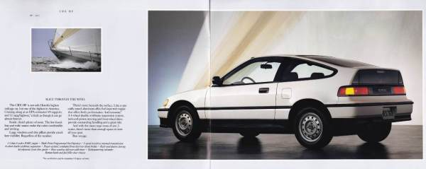 10 1990 CRX brochure
