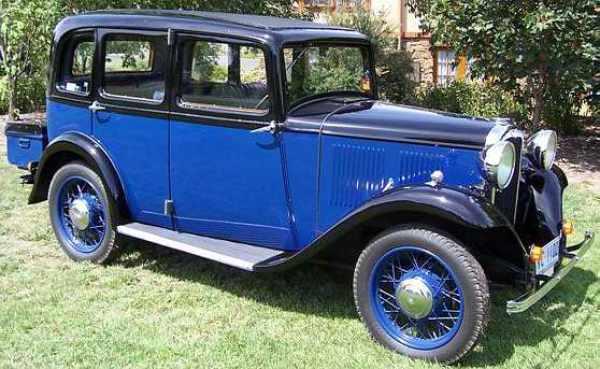 1932 hillman minx