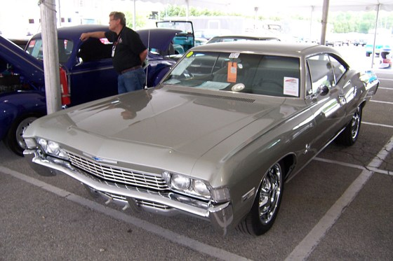 1968 Chevrolet Impala two-door hardtop