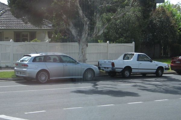 Alfa 156 wagon Subaru Brumby