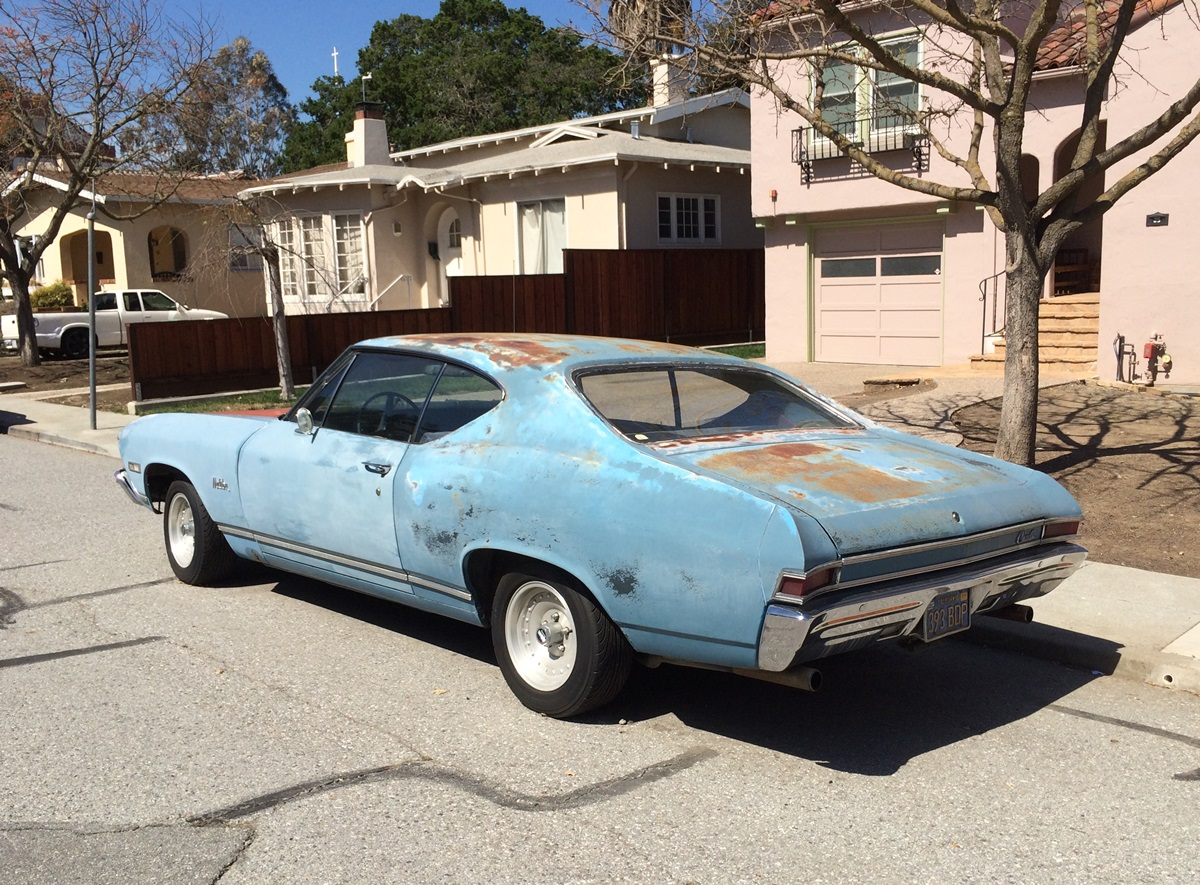 Curbside Classic: 1968 Chevrolet Chevelle Malibu Coupe – Reality ...