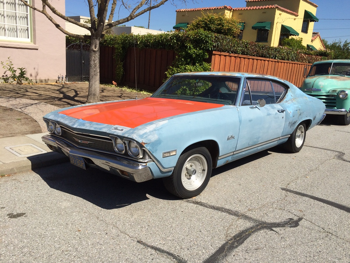 Curbside Classic 1968 Chevrolet Chevelle Malibu Coupe  Reality