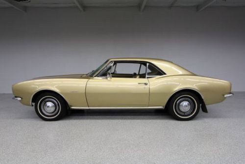 Camaro 1967 six side gold