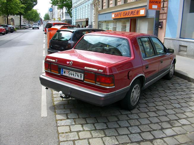 Cohort Sighting Chrysler Saratoga Spotted In Vienna No The K
