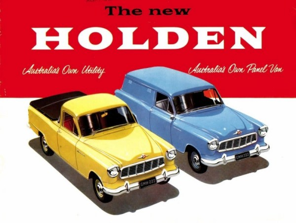 FE Holden Commercial