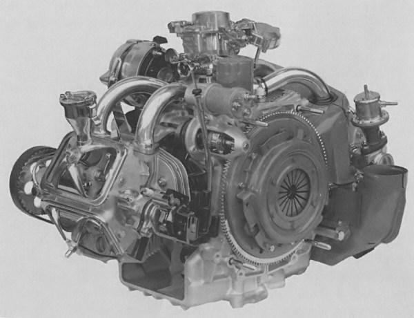 Citroën GS engine 1015c