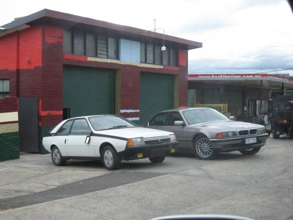 Renault Fuego BMW7