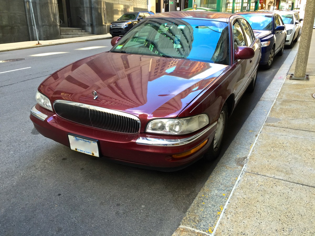 Curbside classic 1997 buick park avenue better the second time around