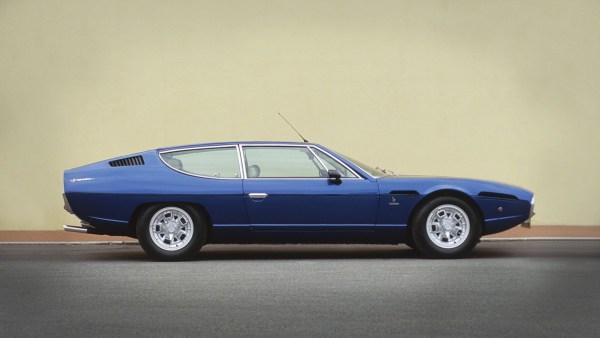 Lamborghini Espade blue side