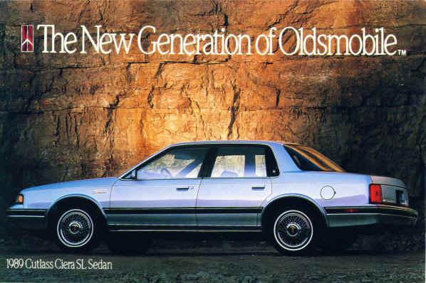 Olds 1989 Ciera br sedan