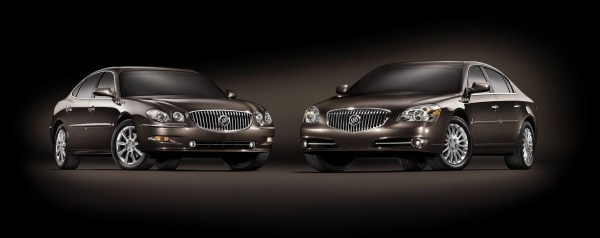 buick lacrosse and lucerne super