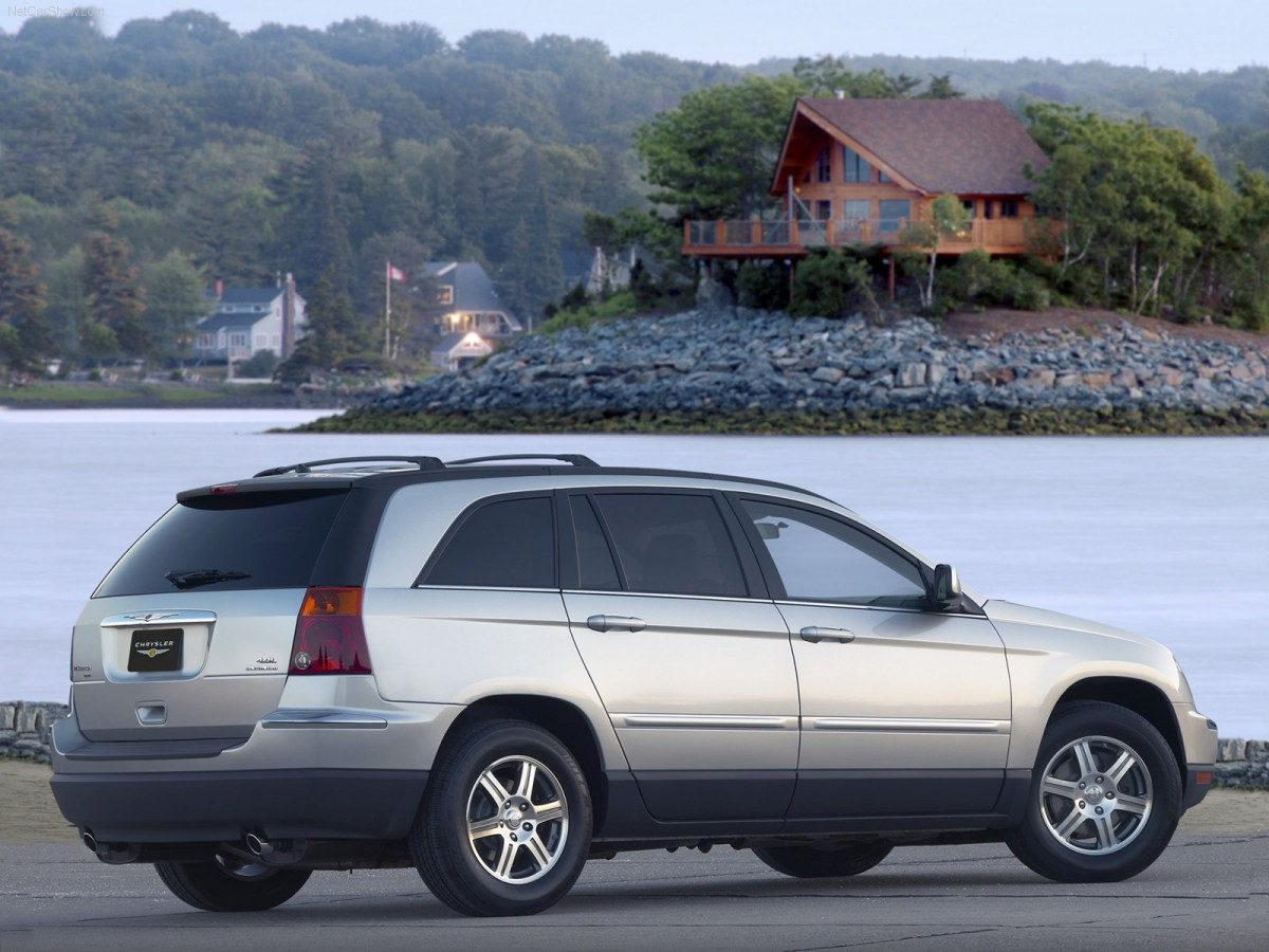 future curbside classic 2004 08 chrysler pacifica no chernobyl not even a three mile island. Black Bedroom Furniture Sets. Home Design Ideas