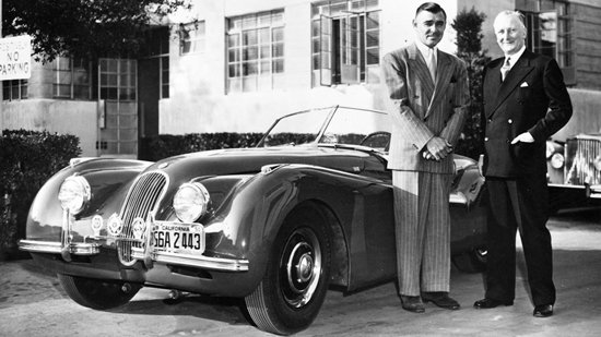 clark gable william lyons jaguar xk120