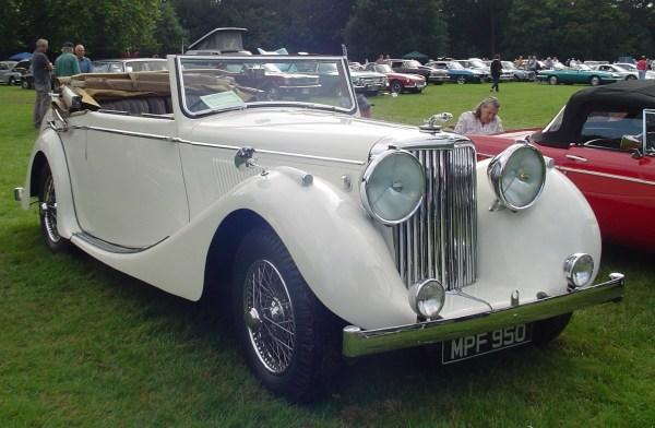 1948 Jaguar 3.5 litre.1