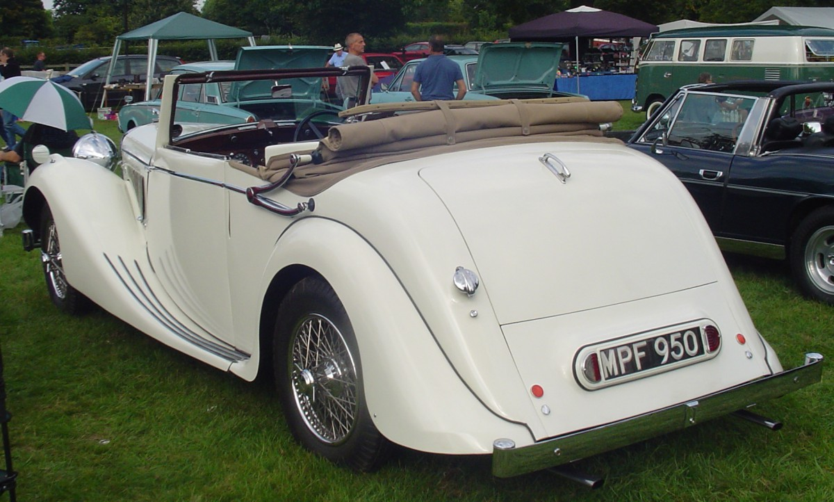 1948 Jaguar 3 5 Litre 3