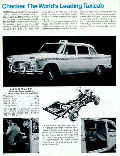 1969 checker 5