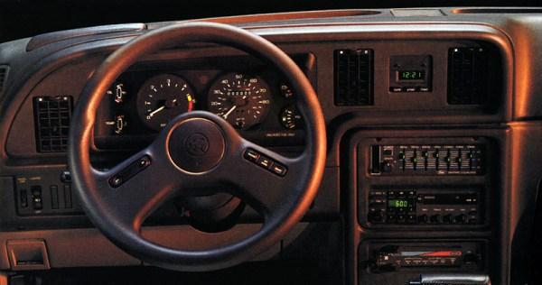 1988 XR7 dash