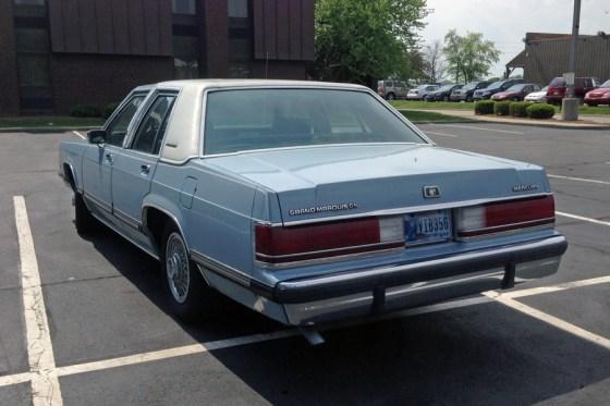 1989 Mercury Grand Marquis d